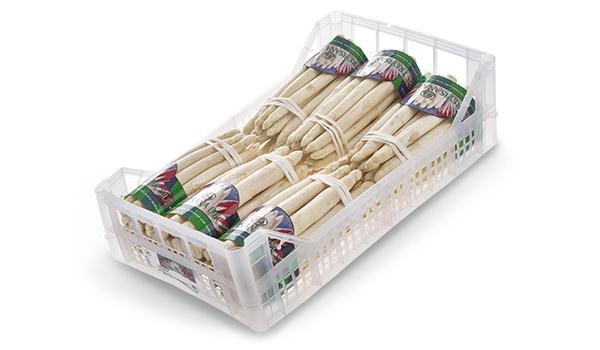 Asparagi bianchi di Badoere IGP in cassetta